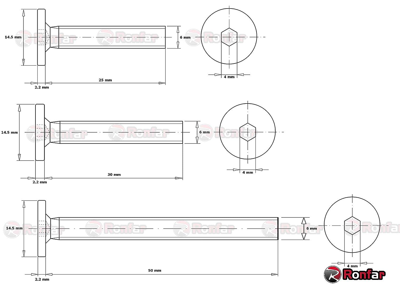 Select B 44212-29LPC Cestino per le lettere superficie in ottone