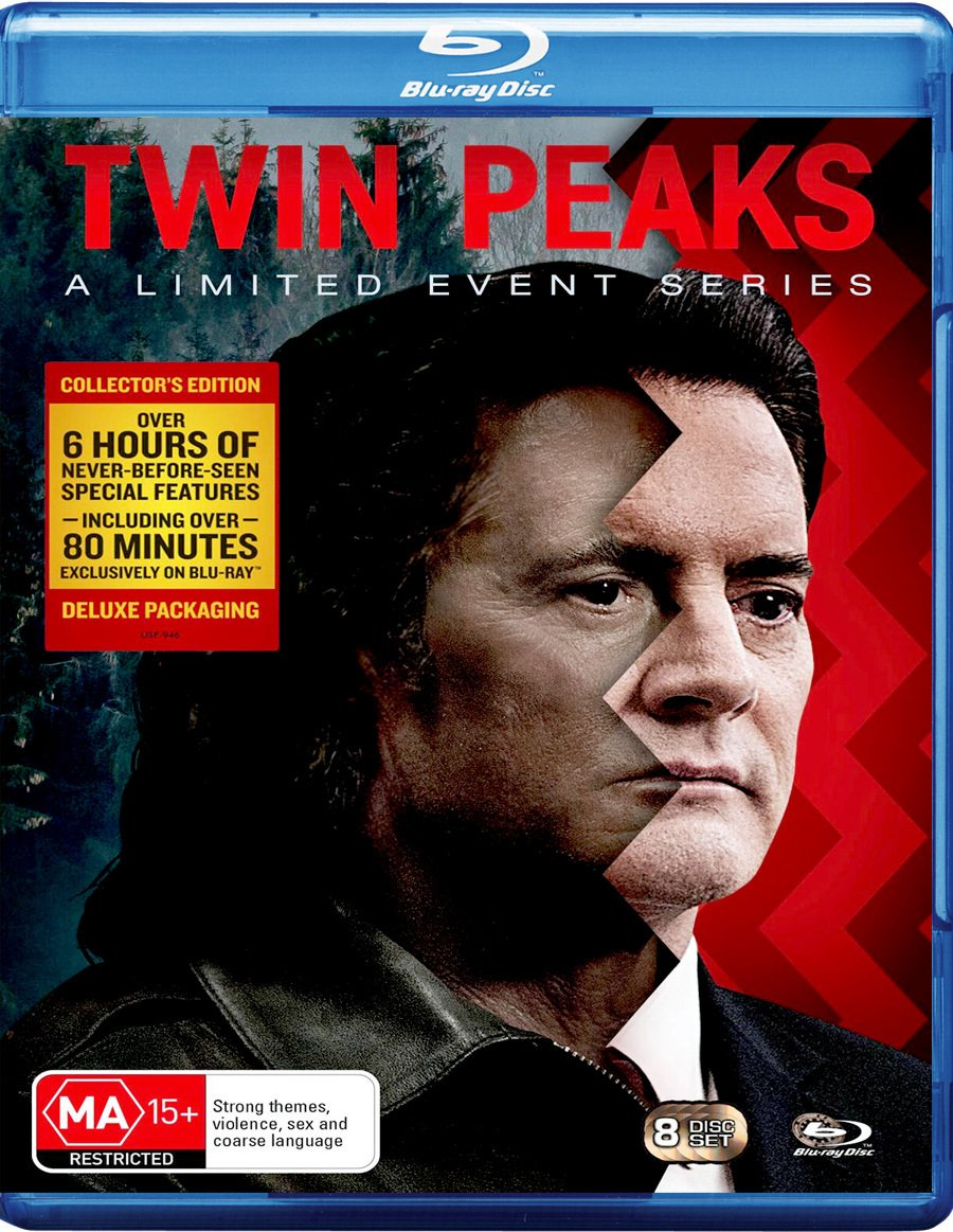 Twin Peaks   2017 Limited Event Series   SpecialEdition   NON-USA Format   Region B Import - Australia