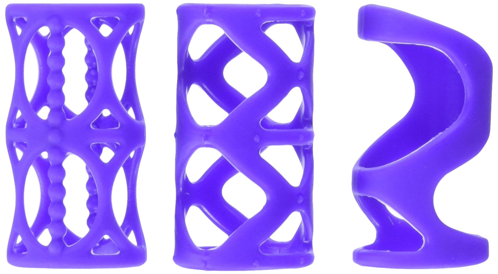California Exotic Novelties Posh Silicone Lover?s Cage - Purple