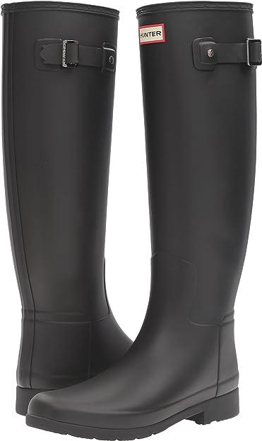 992bbc83bba Hunter Womens Original Refined Rain Boots