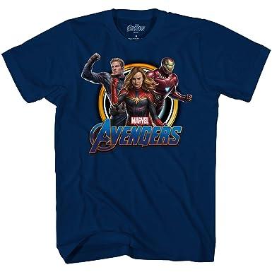 e79548357 Amazon.com: Marvel Avengers Endgame Iron Man Captain America Graphic  Captain T-Shirt: Clothing