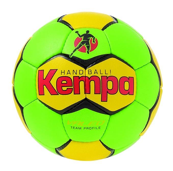 Kempa - Pelota de Balonmano Infantil, tamaño 1 UK, Color fluogrün ...