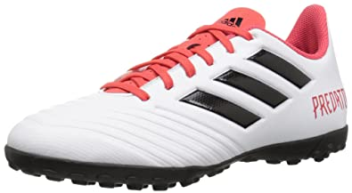 newest 4727a 3a1c7 adidas Men s Predator Tango 18.4 TF, Core Black White Solar Red, 6.5