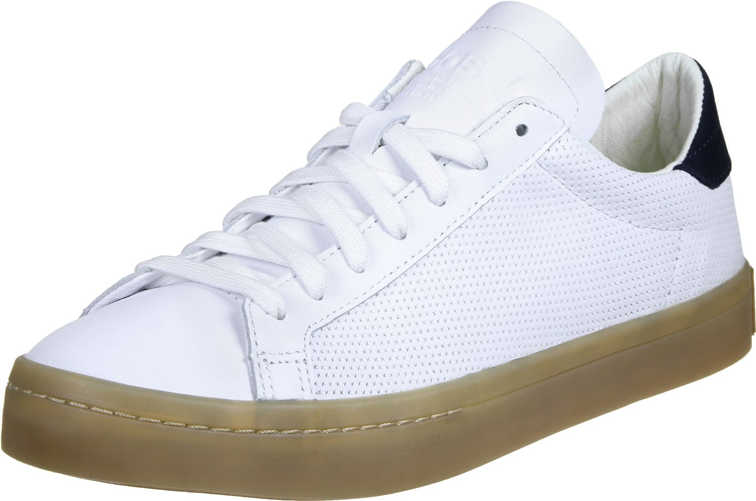 adidas adidas adidas Herren Courtvantage Basketballschuhe White/Brown 671581