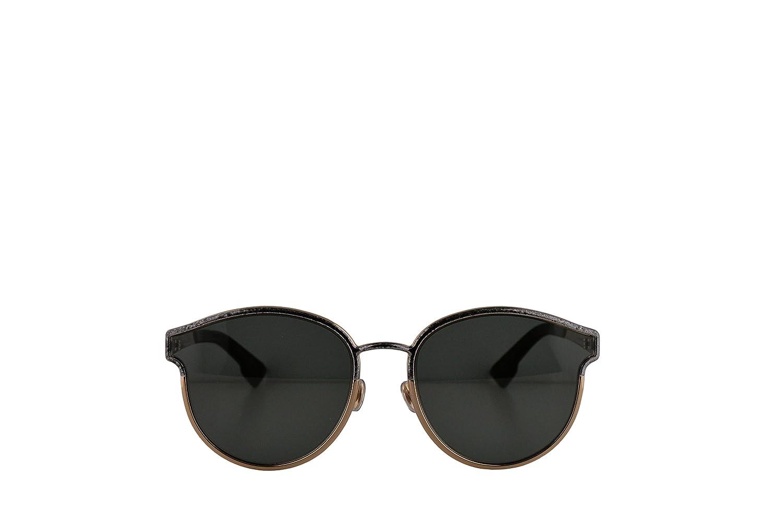 a82ede7949 Amazon.com  Christian Dior DiorSymmetric Sunglasses Black Marble w Grey  Lens 59mm GBY2K DiorSymmetrics DiorSymmetric s Dior Symmetric  Clothing