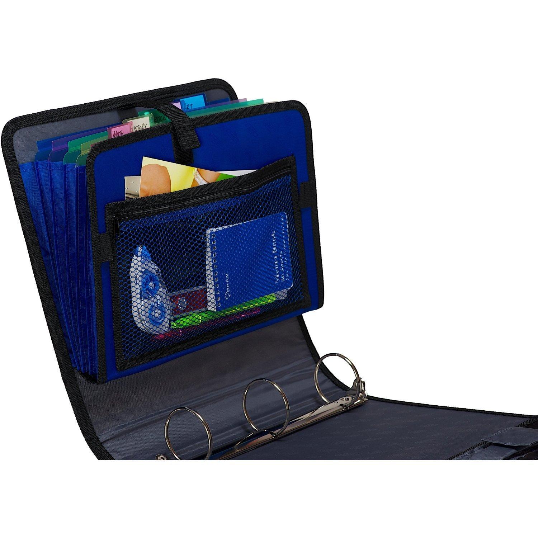 amazon com case it open tab velcro closure 2 inch binder with tab