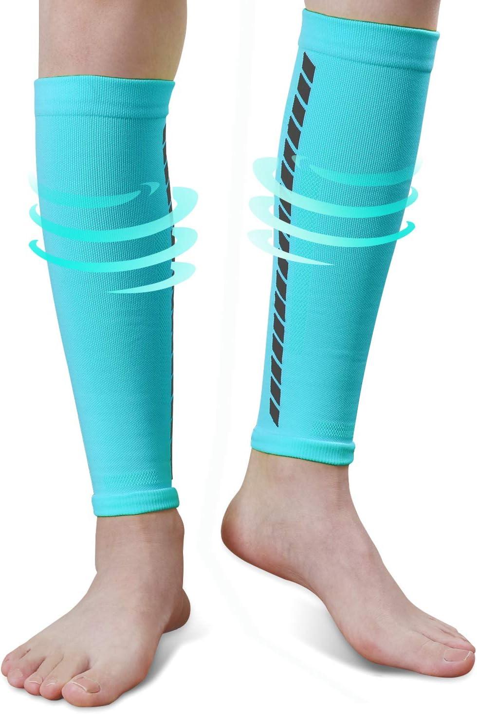 EXski Beinlinge Wadenbandage Waden Kompressionsstr/ümpfe Calf Sleeve Laufen Radfahren Marathon Triathlon Herren Damen