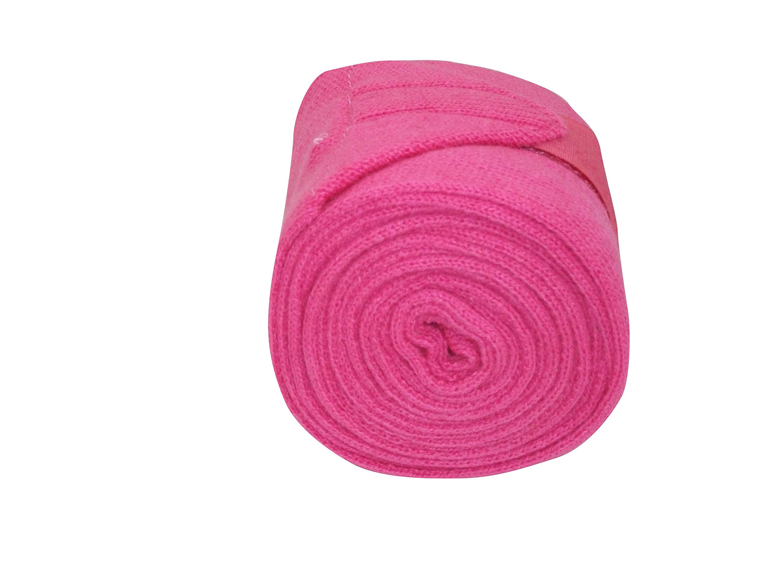 Protack Stable/travel Bandage Knitted : Pink