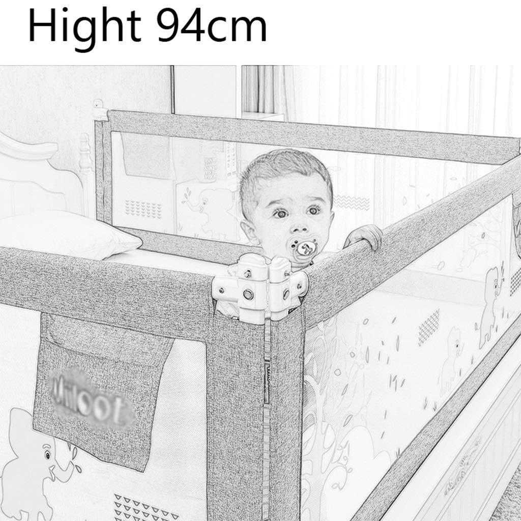 Size : 1.2m Kleinkind Bettgitter Schutz f/ür Kinder Twin Full Size Queen /& King Matratze Kinder /& Baby Bedrail Double Bettgitter f/ür Kleinkinder Universal Fit f/ür Slats /& Boxspring