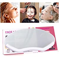 Tingbeauty 100 PCS Microblading Permanent Makeup Shower Face Shields Visors, Disposable Face Shields Masks for Hairspray…