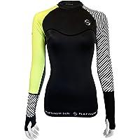 Platinum Sun Rash Guard for Women Long Sleeve Swim Shirt Rashguard Swimsuit Tunic Coverup top UPF 50+