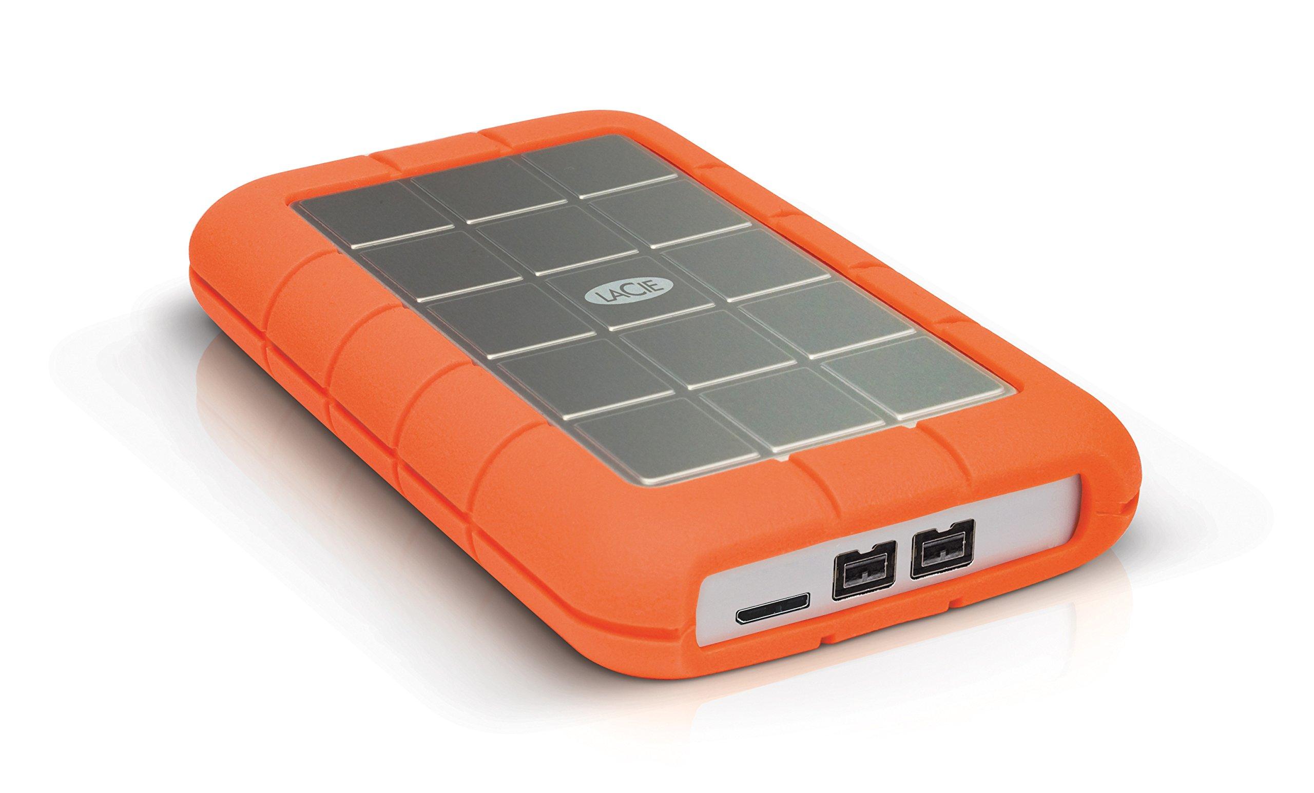 LaCie Rugged Triple USB 3.0 / Firewire 800 2TB Portable Hard Drive LAC9000448