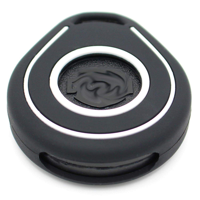Keyless Go Negro Blanco Funda para Llave de Moto HAB de Silicona