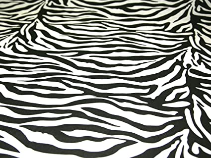 Image Unavailable. Image not available for. Colour  45 quot  wide Printed  Polycotton Dress Fabric  Zebra Print  - per metre 1408f8372