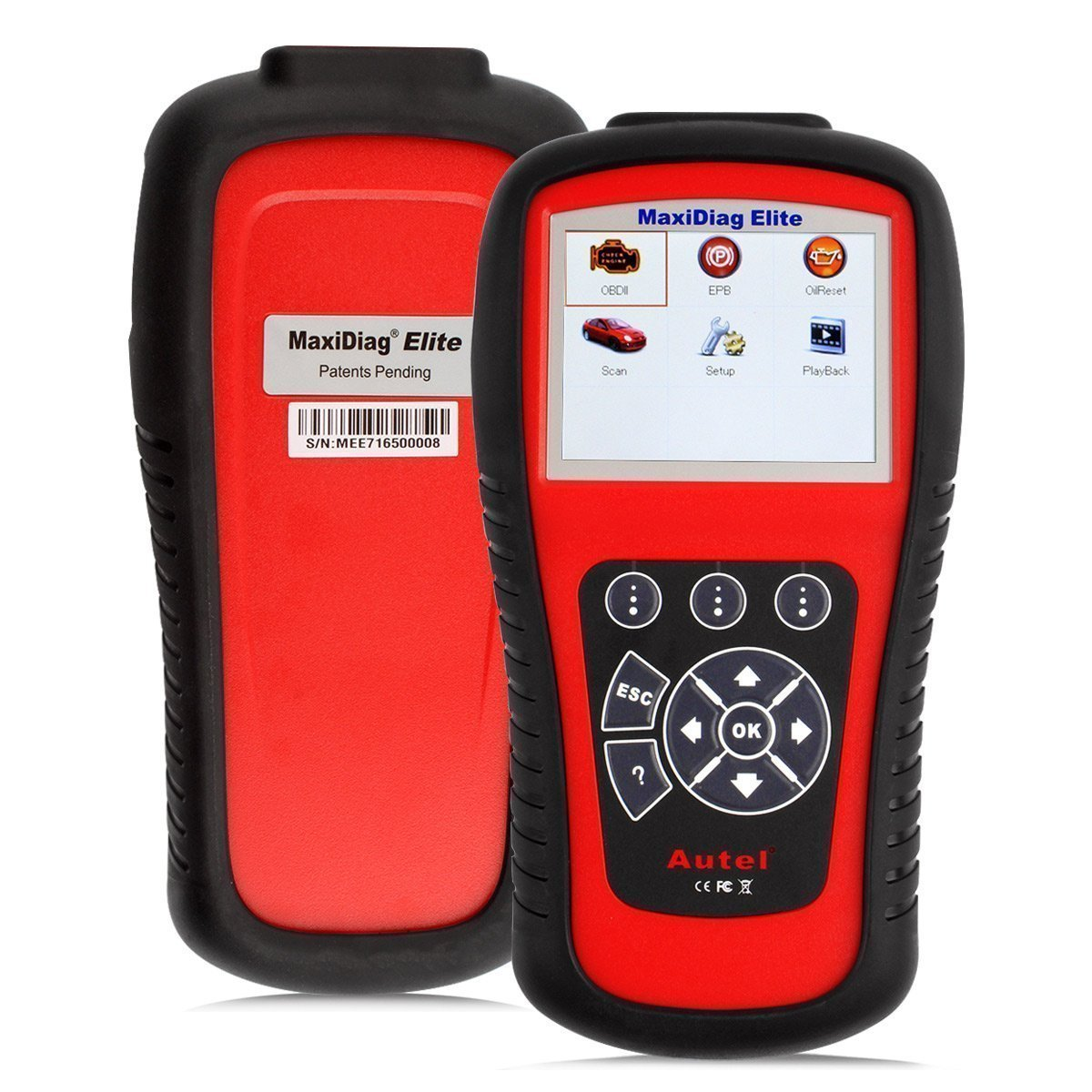 Autel MaxiDiag Elite MD802 All System Diagnosetool für Motor ...