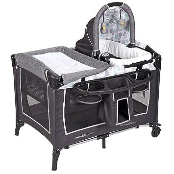 096146d8a1eaa Baby Trend Go-Lite ELX Nursery Center Play Yard - Drip Drop  Amazon ...