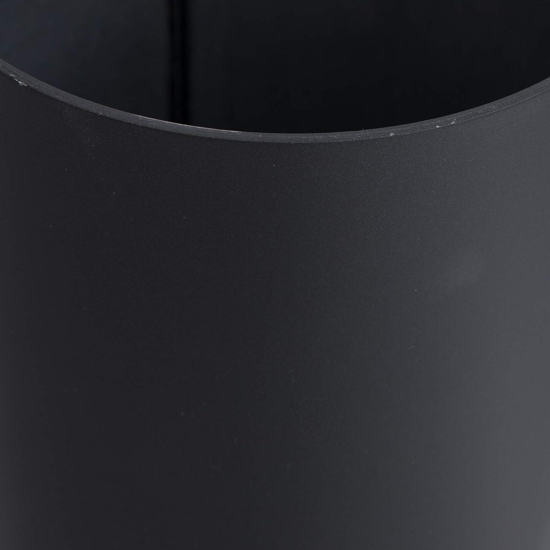 /acero resistente a altas temperaturas /Ø 80 mm//longitud 750 mm Kamino-Flam Negro Tubo para chimenea y estufa de le/ña Tubo vitrificado