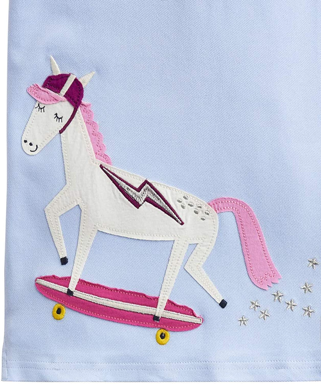 Joules Polo Shirt Sky Blue Skate Horse