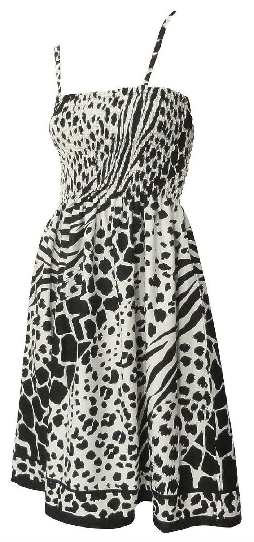 La Leela 3 in 1 glatt likre moderne Kunst Frauen plus Bikini Badeanzug Strand verschleiern / casual Kleid / Sommerkleid Maxirock sleeveless backless bandeaux Lounge Kleid Damen