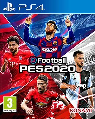 eFootball PES 2020 - PlayStation 4 [Importación inglesa]: Amazon ...
