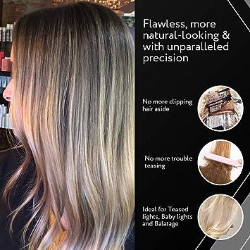 Cooboard Balayage Board con dientes | Pala de resaltado original del fabricante de Cooboard Kit de resaltado para el cabello, fácil de limpiar, ...