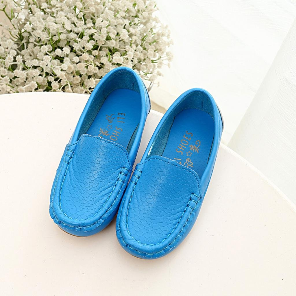 TM 2017Spring Children Boys Girls Casual Outdoor Sport Sneakers Moccasin Boat Shoes Elevin