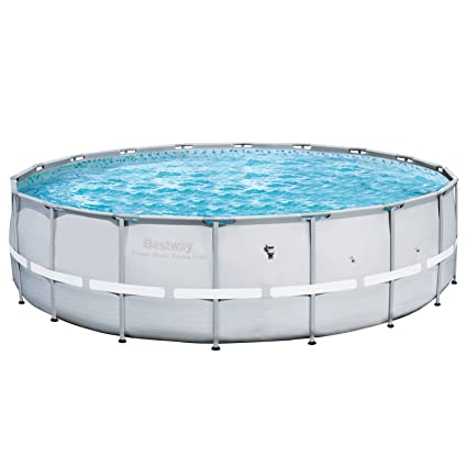 Amazon.com : Bestway 12753 Steel Pro Frame Pool, 18-Feet by 52-Inch ...