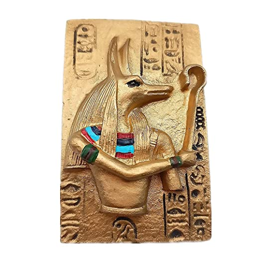 Mito Anubis Egipto 3D Refrigerador Imán de Nevera Ciudad de Viajes ...