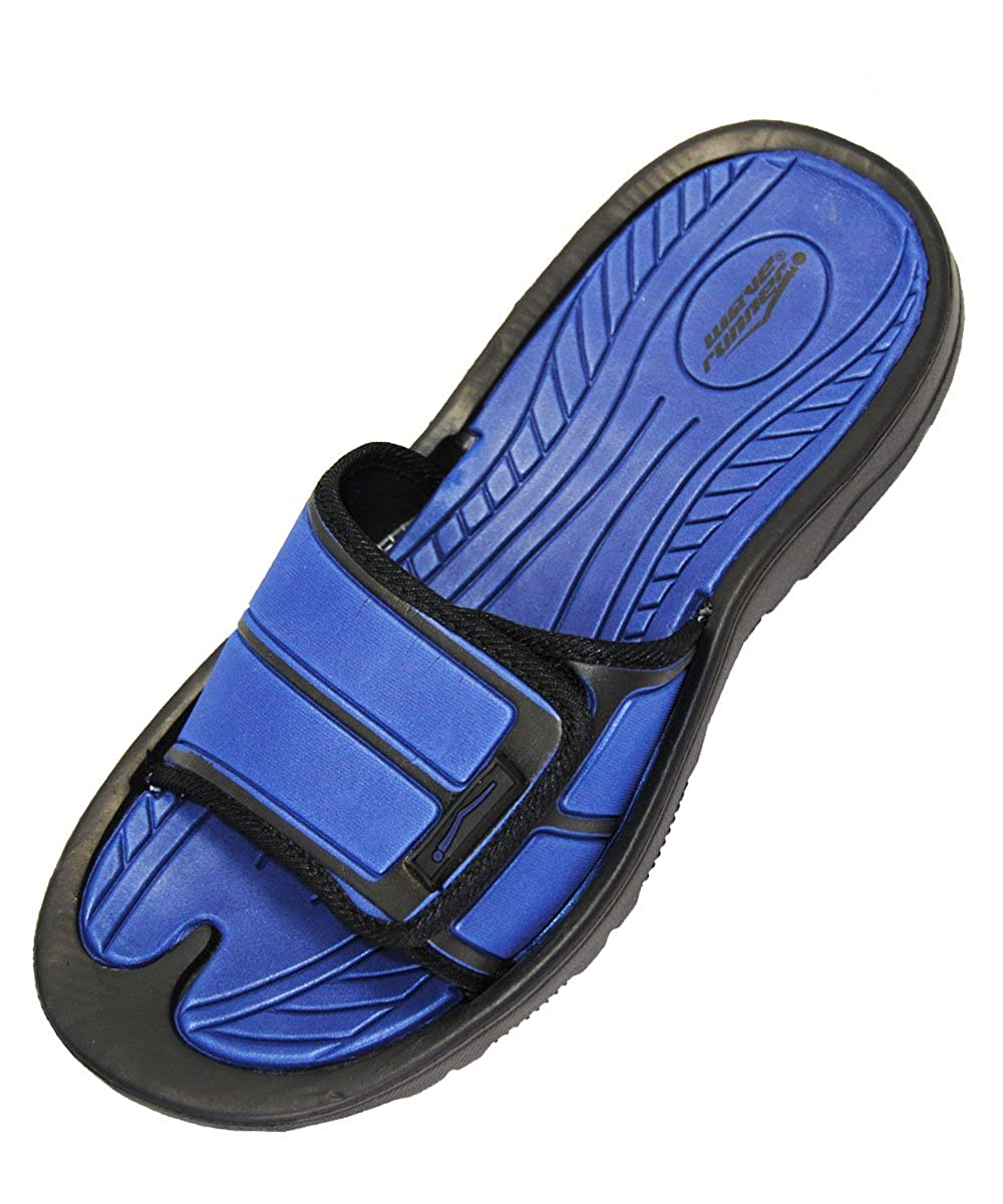 INGEAR Men Slides Slip On Sandals Slippers Comfortable Shower Beach Shoe Flip Flop