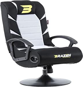 BraZen Pride 2.1 Bluetooth Surround Sound Gaming Chair - White