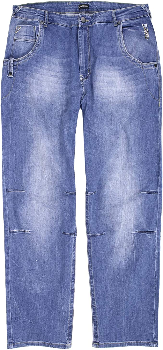 Lavecchia Men's Jeans Trousers Stone Blue