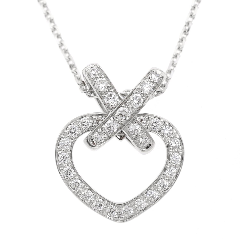 [ショーメ] CHAUMET 18金ダイアモンドネックレス