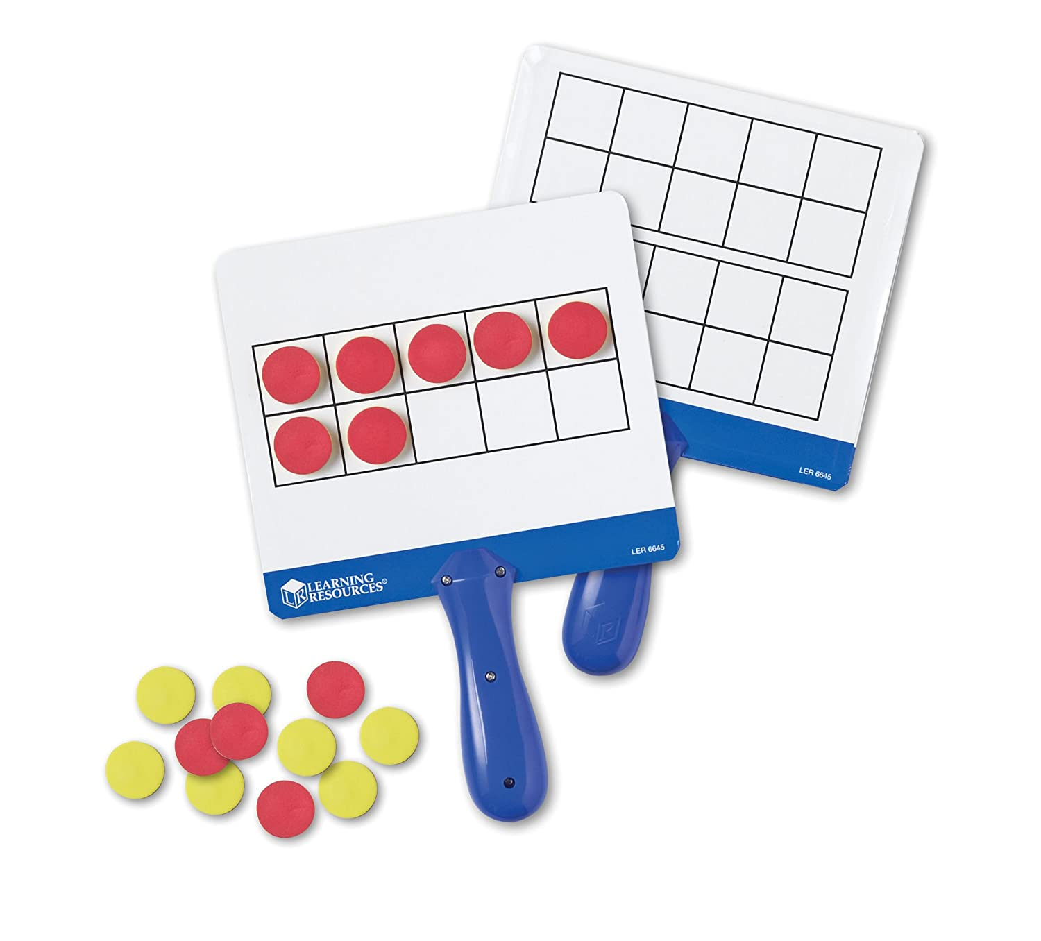 Amazon.com: Learning Resources Magnetic Ten-Frame Answer Boards, Set ...