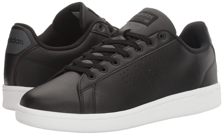 adidas neo uomini cloudfoam vantaggio pulito le scarpe da ginnastica, black / nero