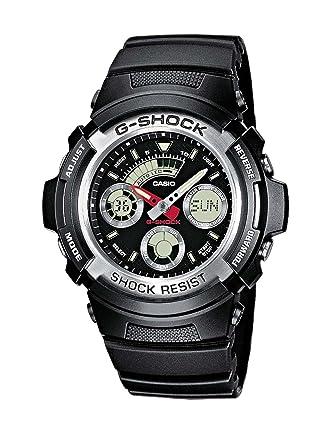bb46c138e5fb Casio G-Shock Men s Watch AW-590-1AER  Casio  Amazon.co.uk  Watches