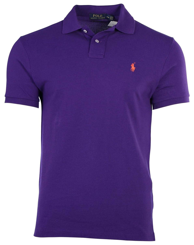 acbb49d1 Ralph Lauren Mens Custom-Fit Mesh Polo Shirt Pony Logo at Amazon Men's  Clothing store: