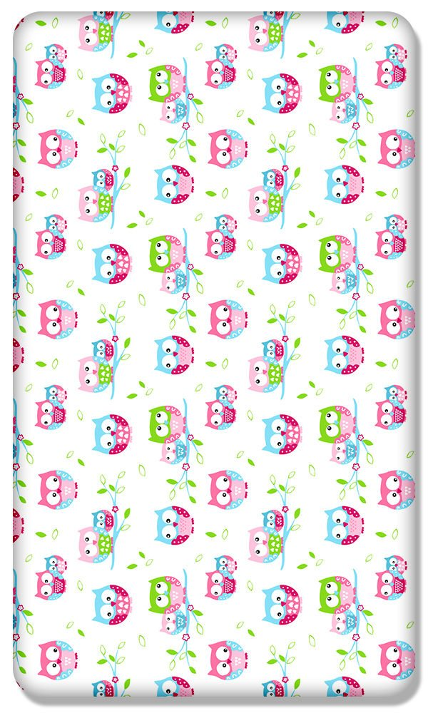 100% COTTON FITTED SHEET WITH PRINTED DESIGN FOR BABY COT BED 140x70CM (Boats) Babymam