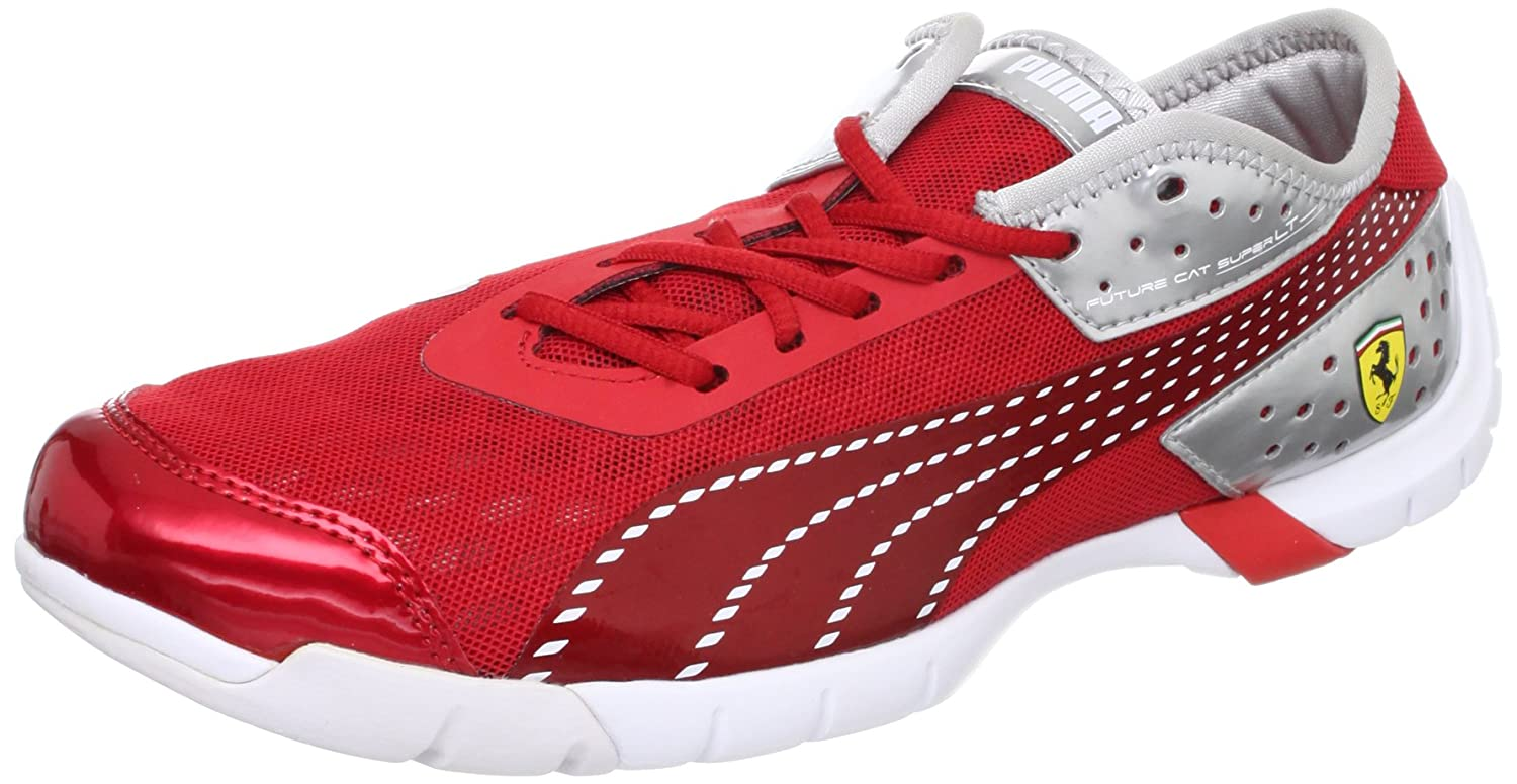 Puma Future Cat Super Lt SF Ferrari Hommes formateurs / Chaussures - Rouge-Red-40.5