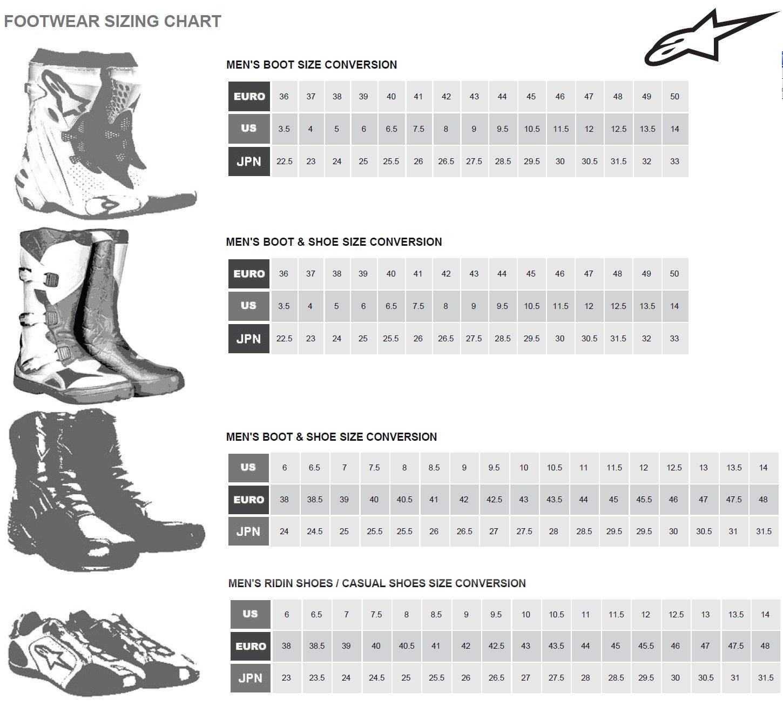 Alpinestars Tech 5 Boots 9//Black