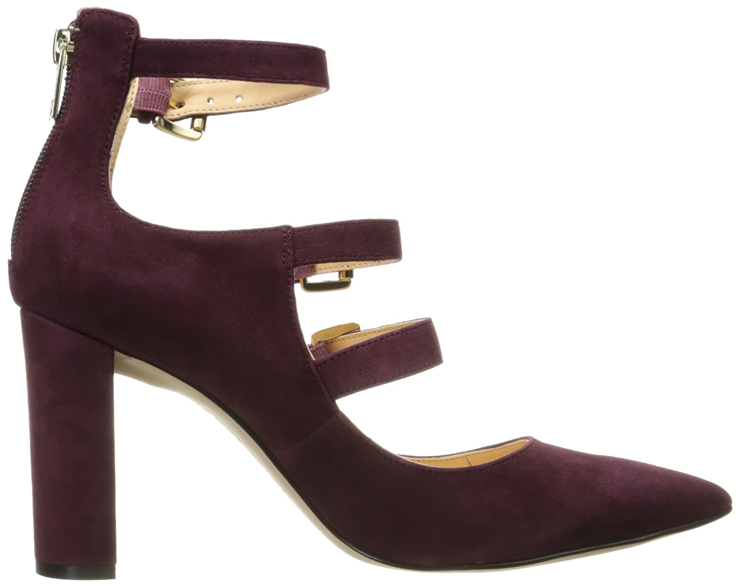Amazon.com | Ivanka Trump Women's Kamon Dress Pump, Burgundy, 8 M US | Pumps