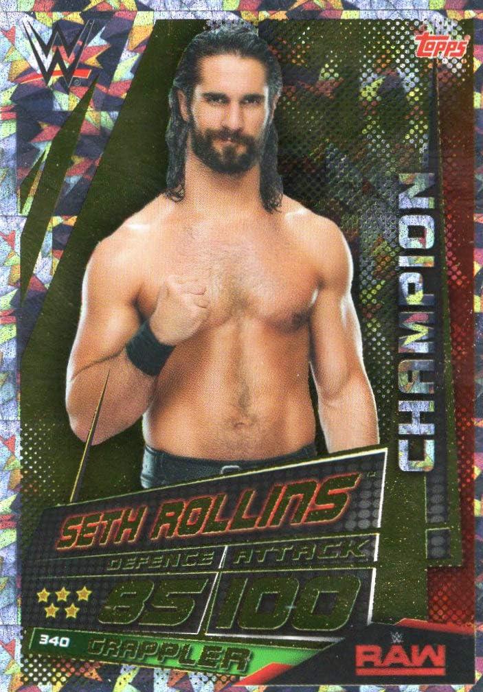 Champions Seth Rollins Karte 340 WWE Slam Attax Universe
