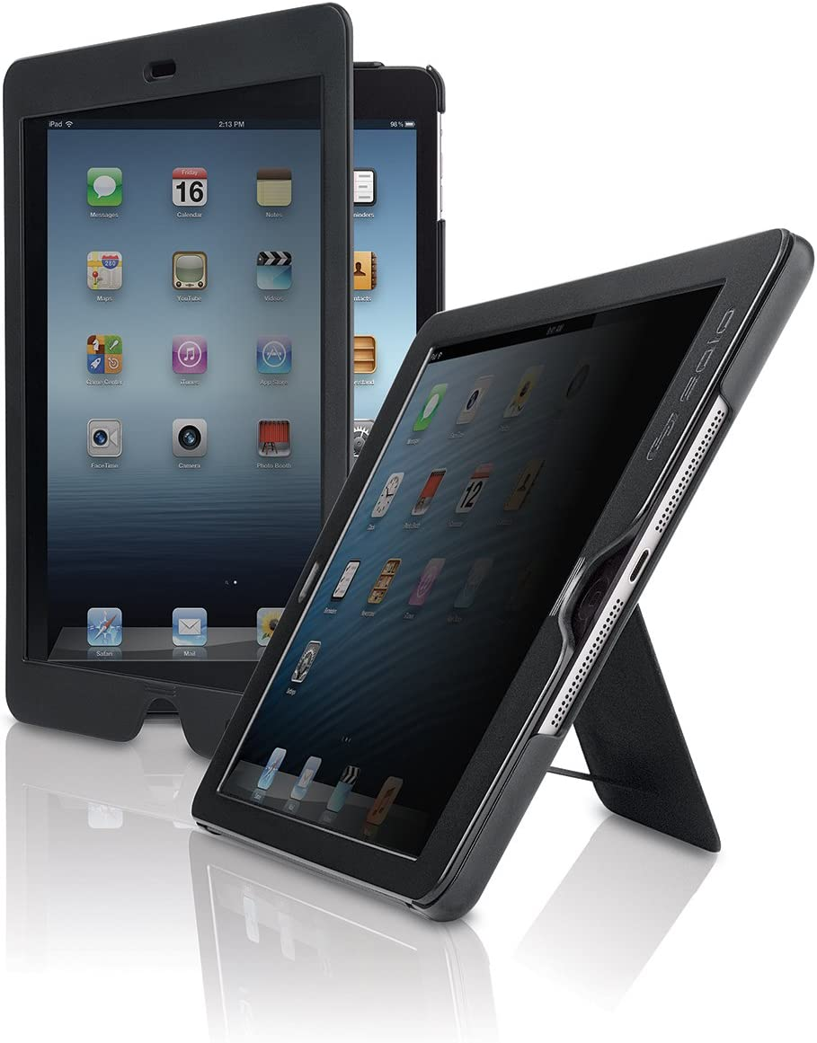 Solo New York Slim Case for iPad Air with Privacy Screen Black