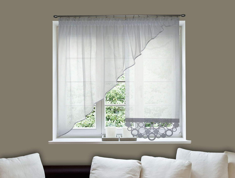 vorhang creme kruselband decoking x cm ecru creme spaghetti vorhang vorhnge kruselband. Black Bedroom Furniture Sets. Home Design Ideas