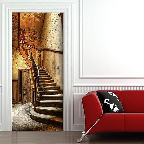 Türtapete Ferienflieger Tapete Kunstdruck Türbild M0370