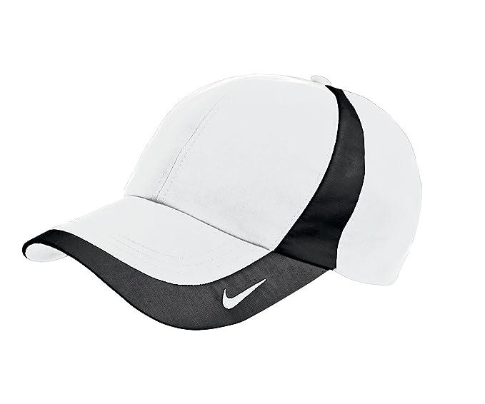 8a15376916a6d Gorra de béisbol Nike Dri-Fit Original ligera con logotipo bordado. -  354062-WHITE-BLACK