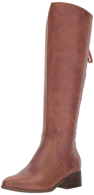 Lucky Brand Women's Lanesha Equestrian Boot B0716SFBYV 12 B(M) US|Tobacco