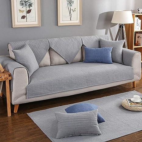 Yijiayun Funda Protectora de sofá de algodón, multitamaño ...
