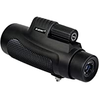 SVBONY SV11 10x42 Monocular Compact Waterproof for Hunting Bird Watching Backpacking Concerts Sporting Events and…