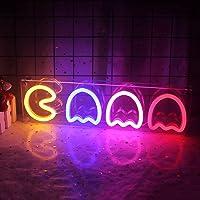Letrero de neón fantasma LED Ghost luz de neón decoración de pared luz nocturna luz acrílica alimentada por usb para…