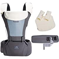 Bebamour Soft Style Designer Baby Carrier and Baby Sling Carrier 2 in 1(Dark Grey)